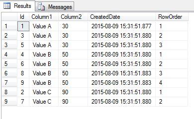 SQL duplicate 02